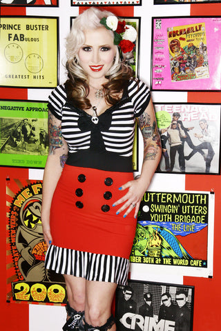 Jessica Louise Pirate Punk Dress