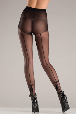 Lace Black Out Fishnet Panyhose