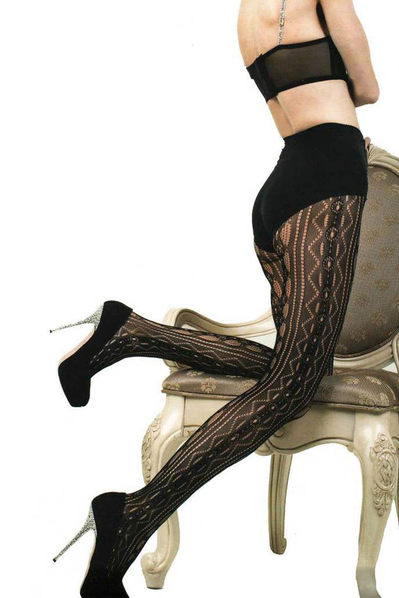 Geometric Sexy lace Tights - shopjessicalouise.com