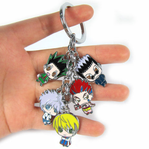 HUNTER x HUNTER Action Figure Toys Key Chains