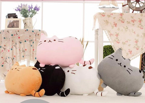 40*30cm Kawaii Pusheen Cat Pillow With Zipper