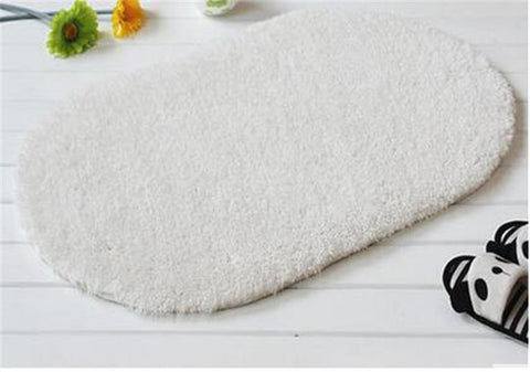 40*60 cm Simple Japanese style soft carpet - 9 colors