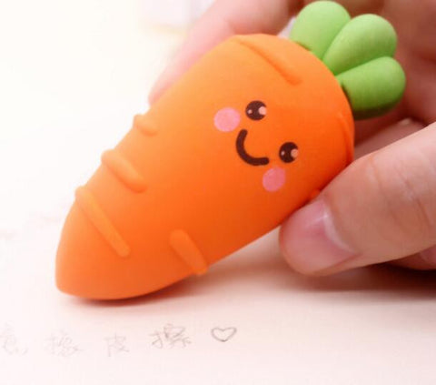 Carrot Eraser Officce Supplies
