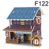 3D Japan Style DIY Puzzle  Model House