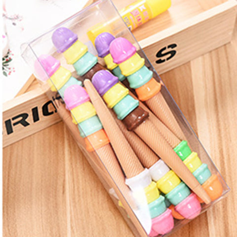 0.5 MM  Candy Color Pen (Black pen) - 12pcs as a set