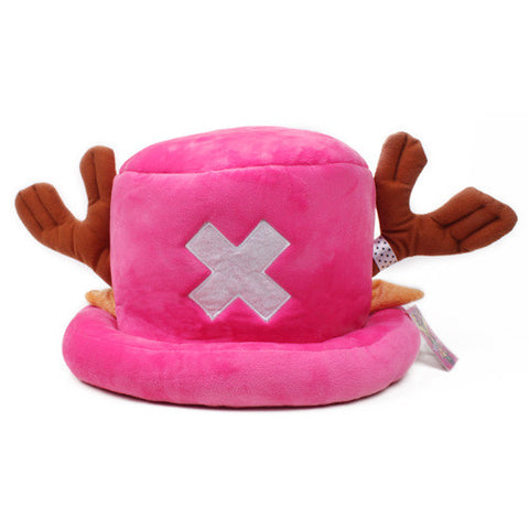 Anime One Piece Tony Chopper Hats Plushies
