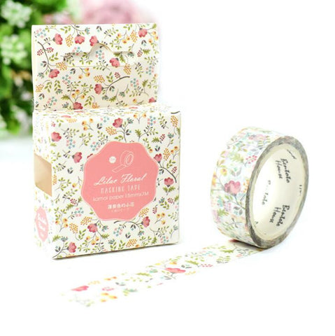Flowers Decorative Washi Tape