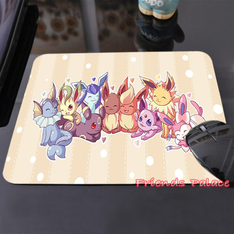 Pokemon Eevee Evolutions Anti-Slip Mouse Pad