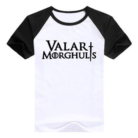 Game of Thrones T-Shirt - Valar Morghulis - Kawaii Honbu