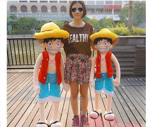 One Piece Monkey D Luffy Plush Doll 120 cm Type 1