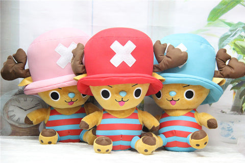 One Piece Chopper Plush Toys 20 x 30 Type 3