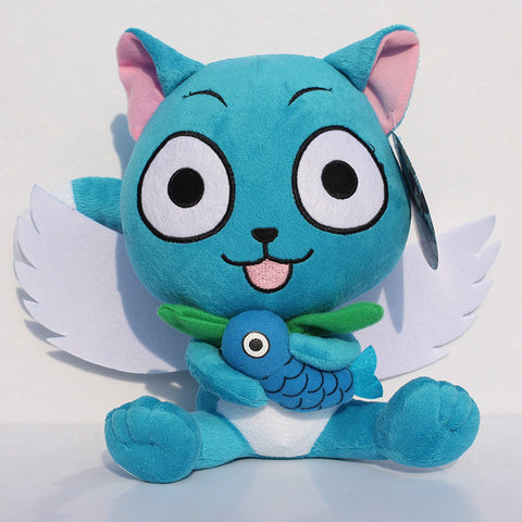 Fairy Tail Happy With Fish Plush Doll