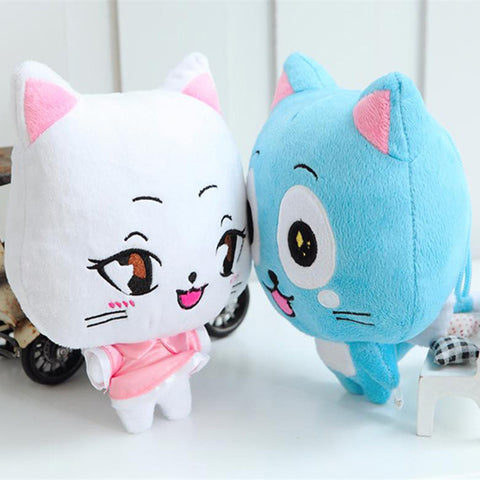 Fairy Tail Happy & Charles Plush Toy 2pcs/lot 23cm