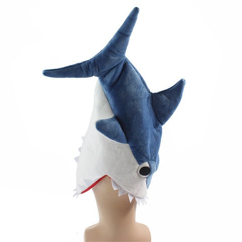 Shark Head Costume Hat - 3 Different Styles