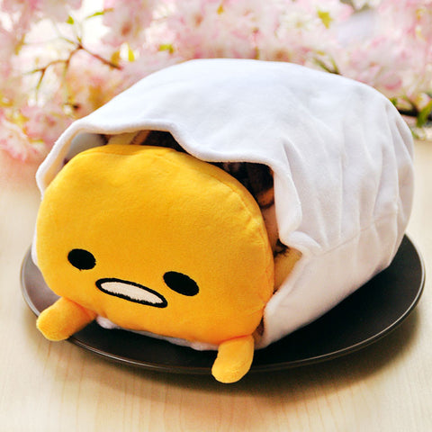 Gudetama Lazy Egg Plush Toy