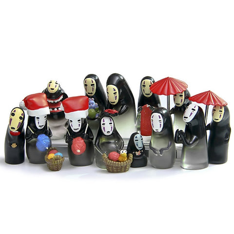 15 Styles Spirited Away No Face Mini Figures