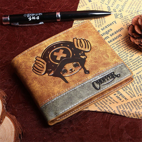 One Piece 3 Different Style Wallets
