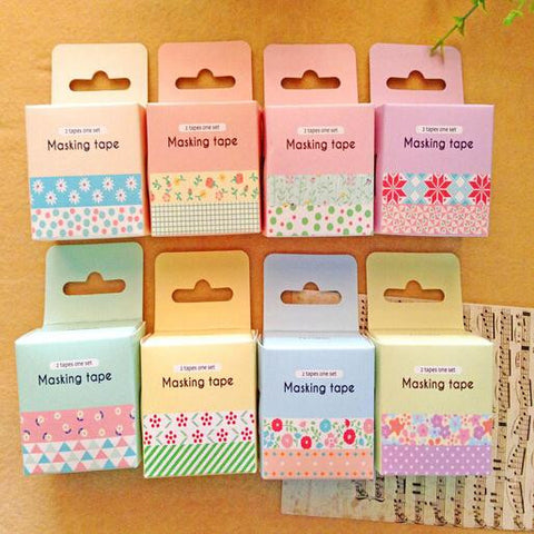 Cute 4Pcs(1Set) Korean Magnetic Metal Bookmark Book Clip School Gift New