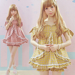 2016 Summer Women Kawaii 2way Lolita dress - Kawaii Honbu