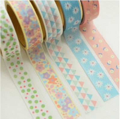 2 pcs/bag New Kawaii Flower Lace Japanese Washi Tape - Kawaii Honbu