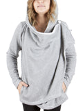 Heathered Grey Fleece