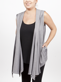 Heathered Grey Sleeveless