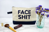 Face Shit Make Up Bag - Navy
