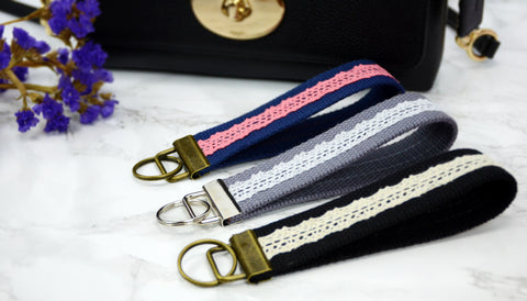 Lace Key Chain Wristlet