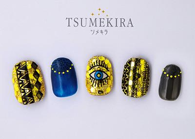 Tsumekira Marie Nails Gel Nail Stickers - Eyes