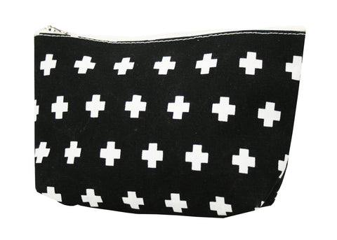 Canvas Cosmetic purse