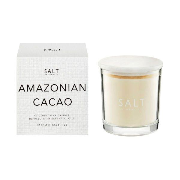 Coconut Wax Candle - Amazonian Cacao