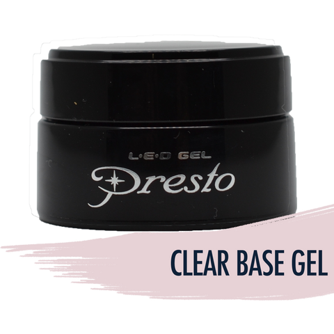 Presto Clear Base Gel - Jar