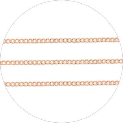 Ageha Art Chain - Pink Gold - 0.7mm