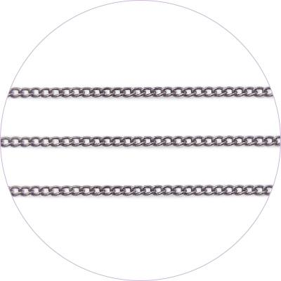 Ageha Art Chain - Metal Black - 0.7mm