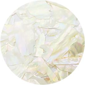 Natural Beach Shell - White Opal (BZ01)