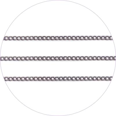 Art Chain - Metal Black - 0.7mm