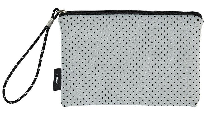 Neoprene Punch Clutch Bag
