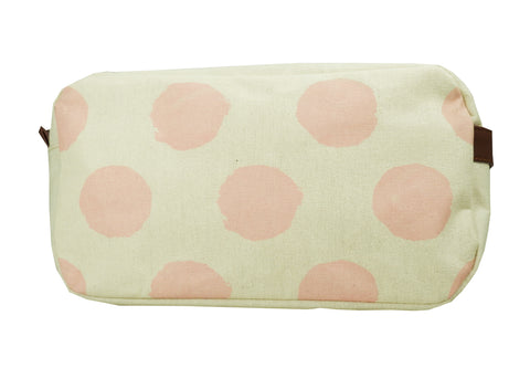 Canvas Wet Pack Purse/Toiletry Bag