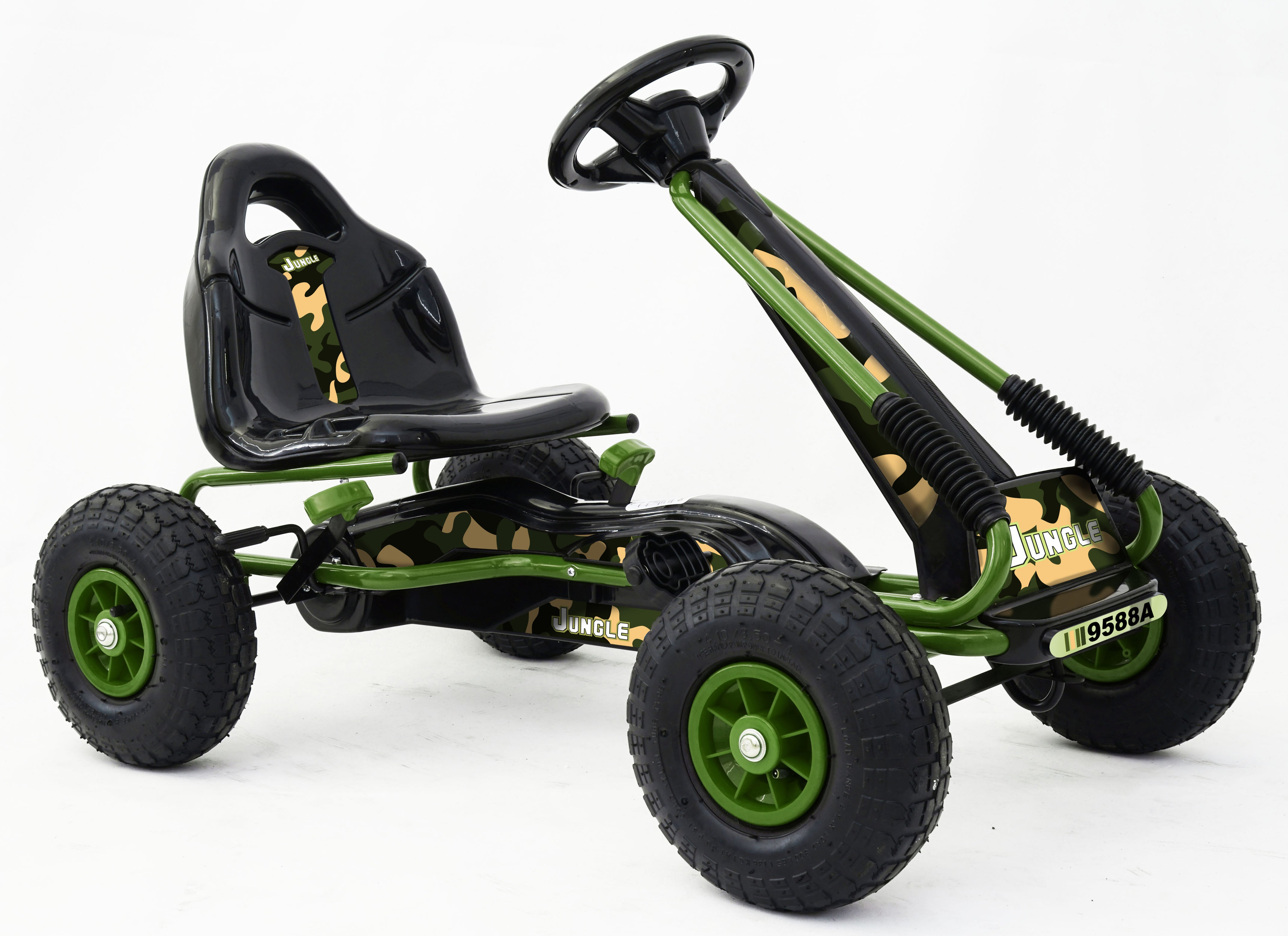 RICCO 9588A CAMOUFLAGE Toys Kids Pedal Go Kart Ride On Air Wheels ...