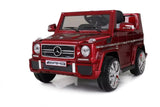12V 7Ah Battery Powered Mercedes-Benz G65 Licensed Twin Motor Electric Toy Car  (Model: LS528 ) RED - RICCO® Toys
