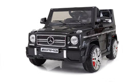 12V 7Ah Battery Powered Mercedes-Benz G65 Licensed Twin Motor Electric Toy Car  (Model: LS528 ) BLACK - RICCO® Toys