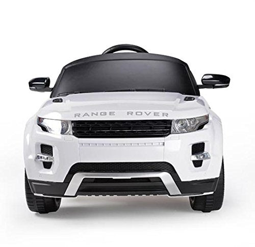Ricco RS81400 EVOQUE WHITE Licensed 12V Range Rover Evoque Kids Electric Ride On Car with MP3 and Remote Control - White - RICCO® Toys