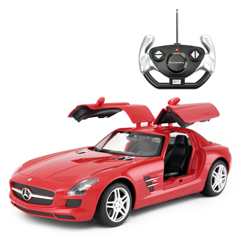 Ricco RC47600 Genuine Licensed 1: 14 Mercedes-Benz SLS AMG Open Door Remote Control Car Red