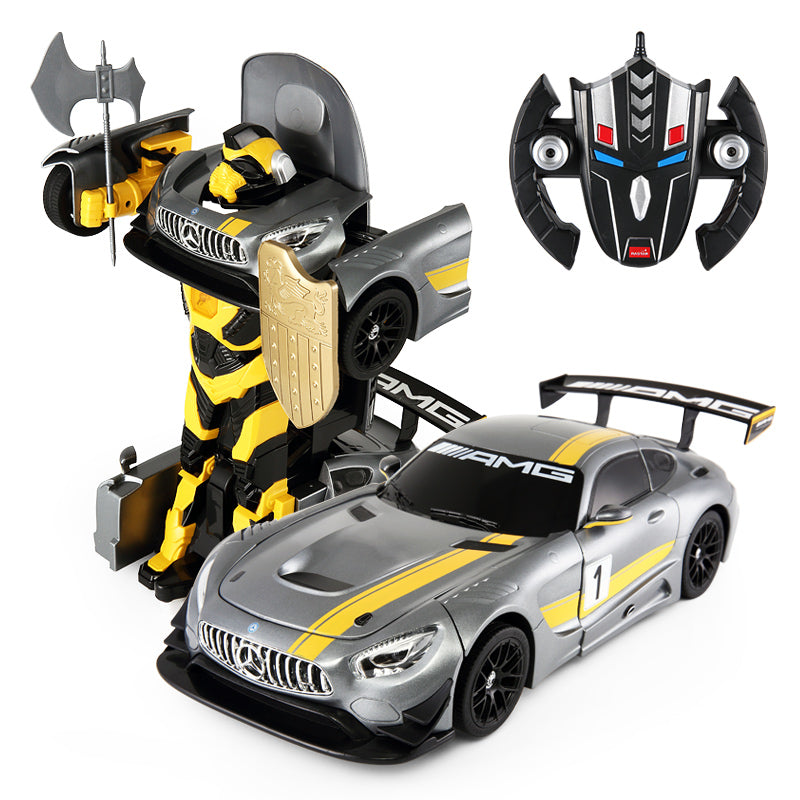 Ricco RC74820 Genuine Licensed 1: 14 Mercedes AMG GT3 Transformable Remote Control Car - RICCO® Toys