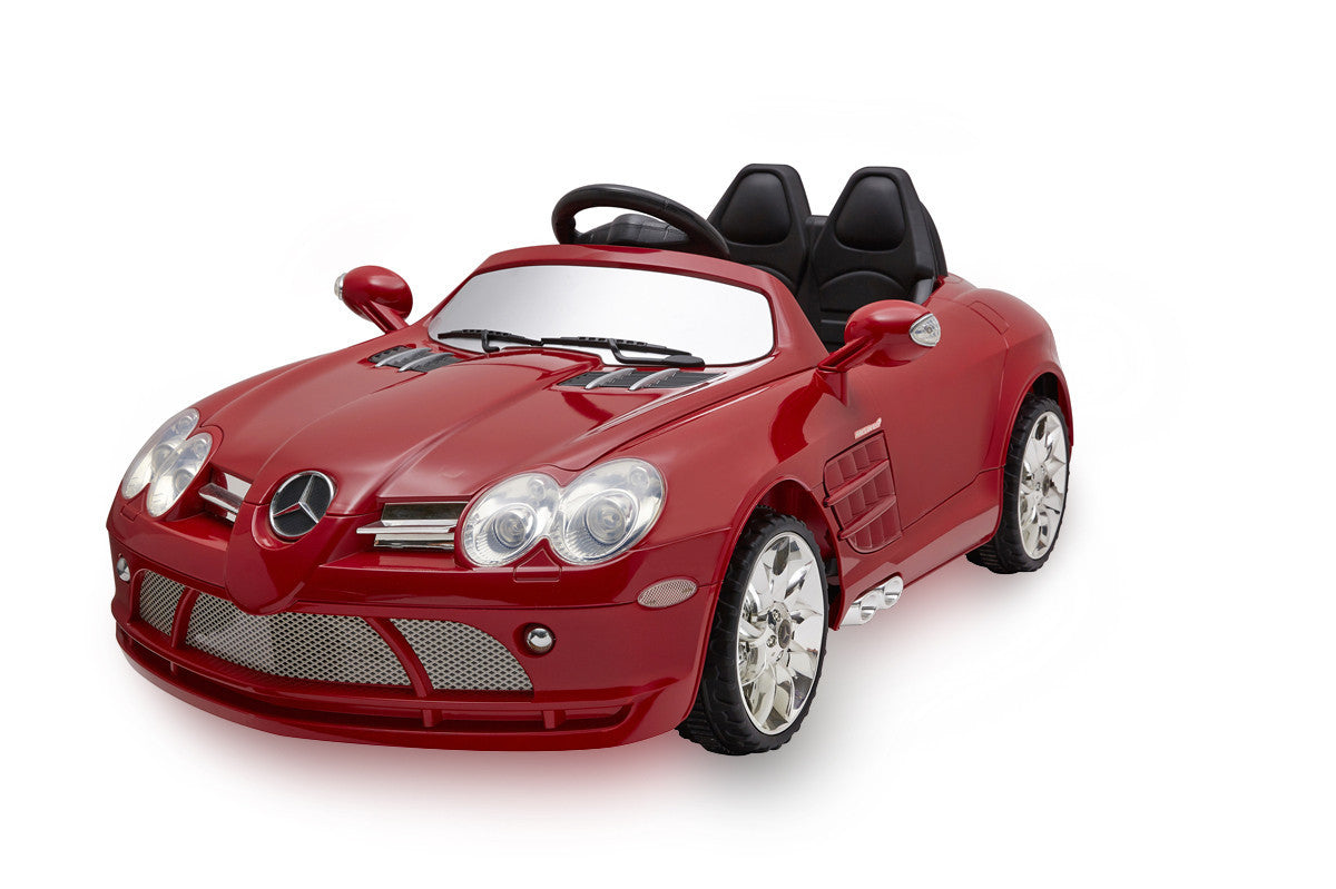 12V Battery Powered Mercedes-Benz SLR McLaren R199 Licensed Electric Toy Car (Model:522) - RICCO® Toys