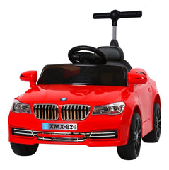 6V 50W Battery Powered BMW Style Twin Motor Electric Toy Car (Model: XMX826 ) RED - RICCO® Toys