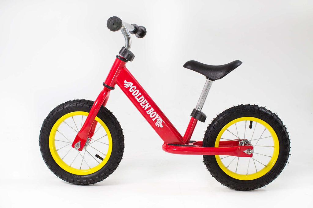 RICCO® Balance Bike with Air Wheels Red (Model: BB03)
