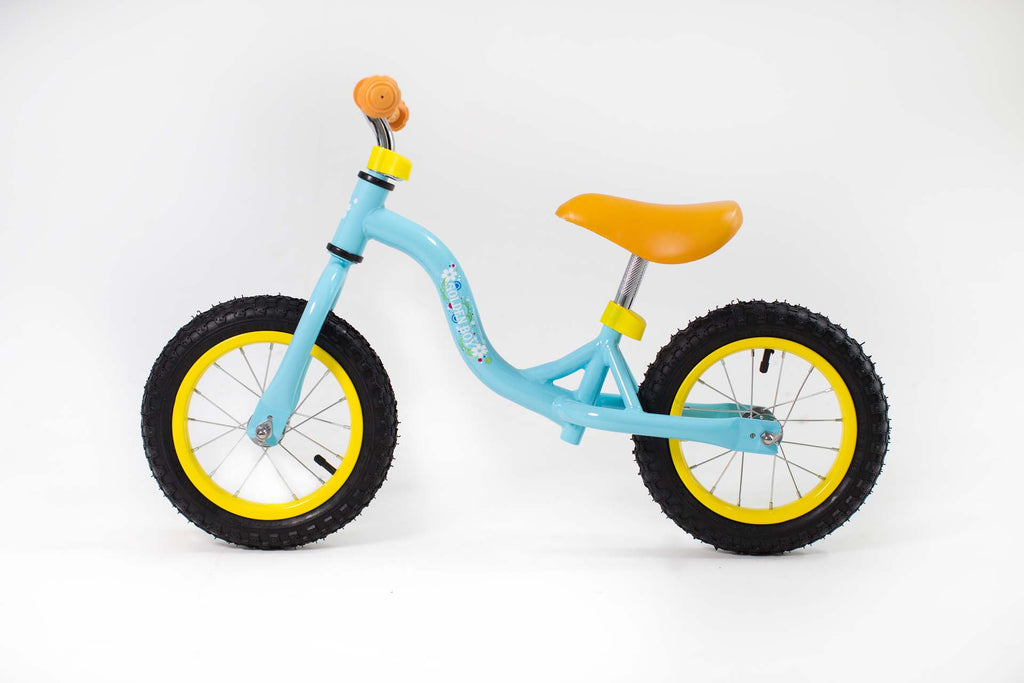 RICCO® Balance Bike with Air Wheels Light Blue (Model: BB14)
