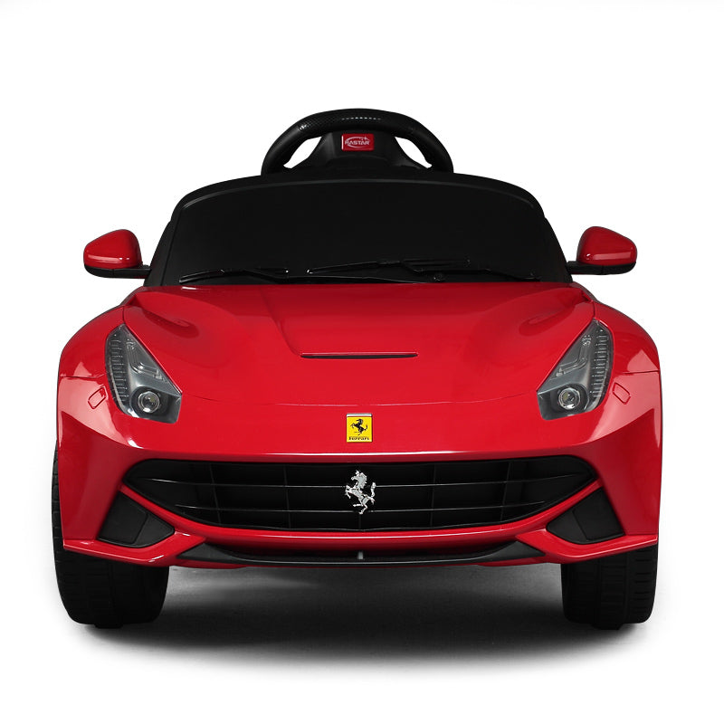 Ricco RS81900 RED Genuine Official Licensed Ferrari F12 Berlinetta 12V Electric Ride On Car with Remote Control