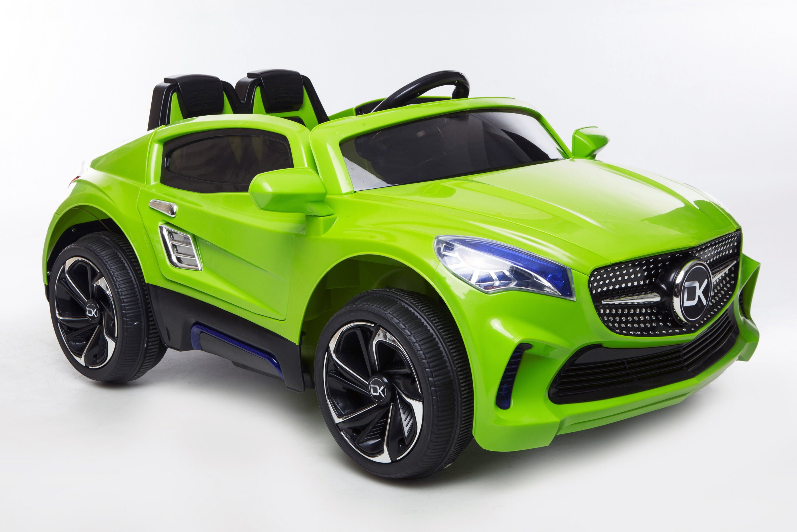 12V Battery Powered Kids Electric Ride On Toy Car (Model: F007) GREEN - RICCO® Toys